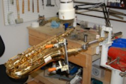 music instruments repair shop