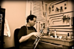 musical instruments repair shop